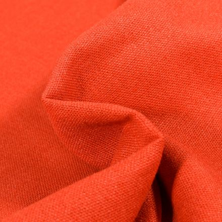 Tissu Viscose Lin uni Orange