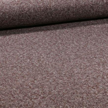 Tissu Maille épaisse chiné Taupe - Par 10 cm