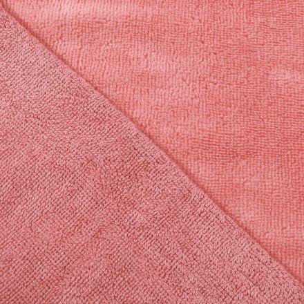 Tissu Micro Éponge Bambou Vieux rose - Par 10 cm