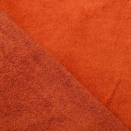Tissu Micro Éponge Bambou Brique - Par 10 cm