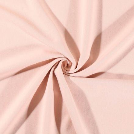 Tissu Gabardine de viscose uni Nude - Par 10 cm