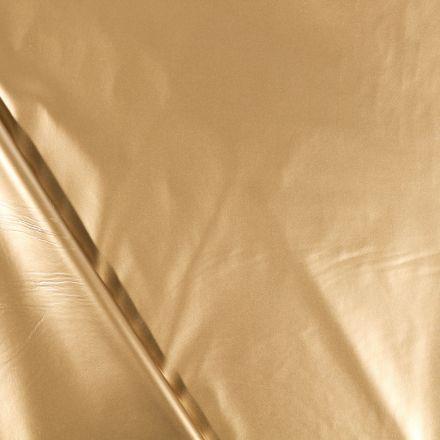 Tissu Vinyl plastifié Etain - Par 10 cm