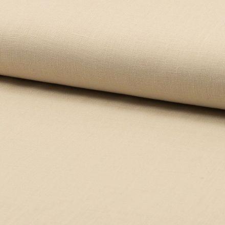 Tissu Lin Beige sable x10cm