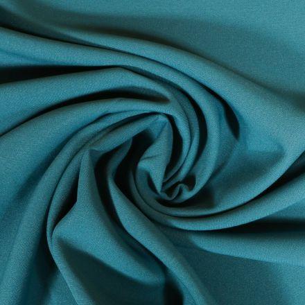 Tissu Burlington Bleu Canard x10cm