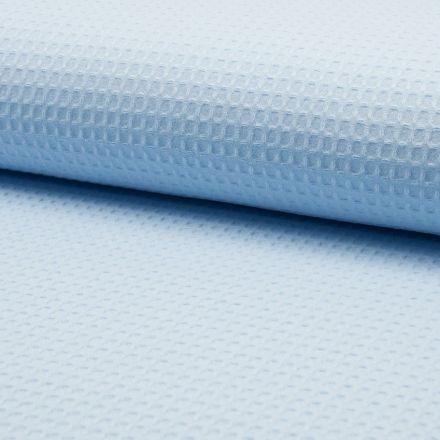 Tissu Nid d'abeille Bleu ciel x10cm