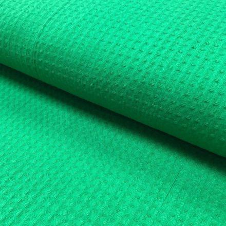 Tissu Nid d'abeille Vert golf x10cm