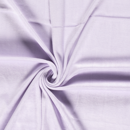 Tissu Jersey Velours tout doux Gris de lin x10cm