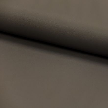 Tissu Simili cuir souple Taupe x10cm