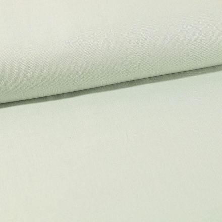 Tissu Toile Coton Canvas uni Vert d'eau - Par 10 cm
