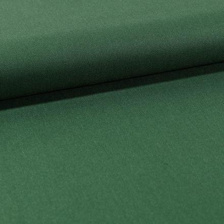 Tissu Toile Coton Canvas uni Vert Foncé - Par 10 cm