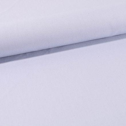 Tissu Toile Coton Canvas uni Bleu Ciel - Par 10 cm
