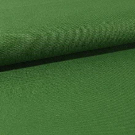 Tissu Toile Coton Canvas uni Vert Sapin - Par 10 cm