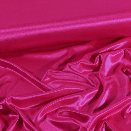 Tissu Doublure Maille Fushia - Par 10 cm