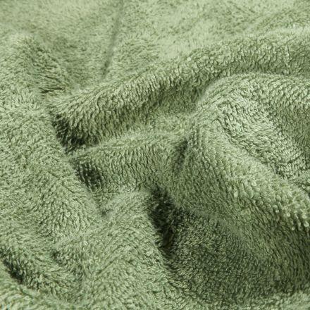 Tissu Eponge Premium 400 g/m² Vert d'eau