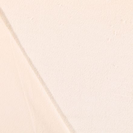 Tissu Micro Éponge Bambou Ecru - Par 10 cm