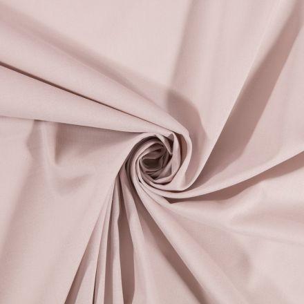 Tissu Coton uni Gris souris - Par 10 cm
