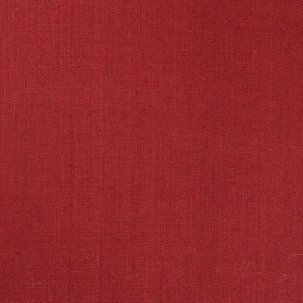 Tissu Toile de Jute Bordeaux - Par 10 cm