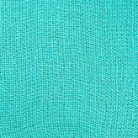 Tissu Toile de Jute Bleu ciel - Par 10 cm