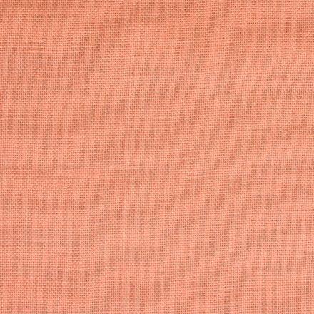 Toile de Jute Saumon - Par 10 cm