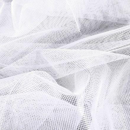 Tissu Moustiquaire grande largeur 40D Blanc - Par 10 cm
