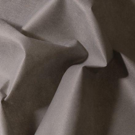 Tissu Non tissé Gris - Par 10 cm