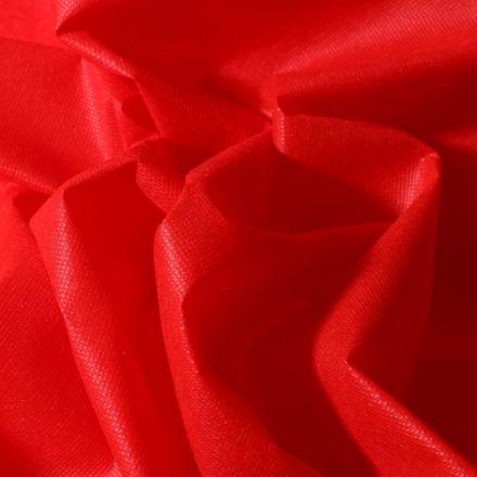 Tissu Non tissé Rouge - Par 10 cm