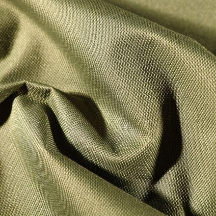 Tissu Toile à sac envers PVC déperlant ultra robuste Vert kaki - Par 10 cm