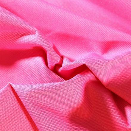 Tissu Toile à sac envers PVC déperlant ultra robuste  Rose fuchsia - Par 10 cm
