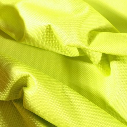 Tissu Toile à sac envers PVC déperlant ultra robuste Vert anis - Par 10 cm