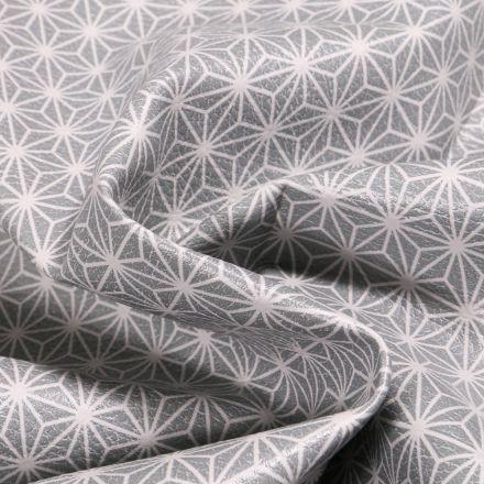 Tissu Simili cuir d'ameublement Casual Gris clair