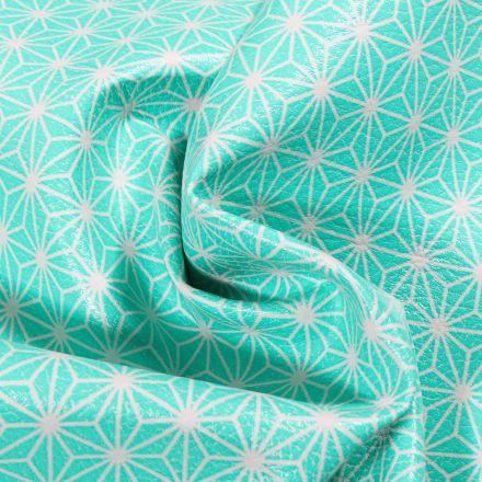 Tissu Simili cuir d'ameublement Casual Vert menthe