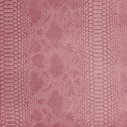 Simili cuir Comodo Rose - Par 50 cm