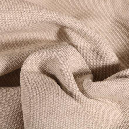 Tissu Toile de coton uni Grande largeur Naturel - Par 10 cm