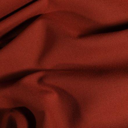 Tissu Toile de coton uni Grande largeur Brique - Par 10 cm
