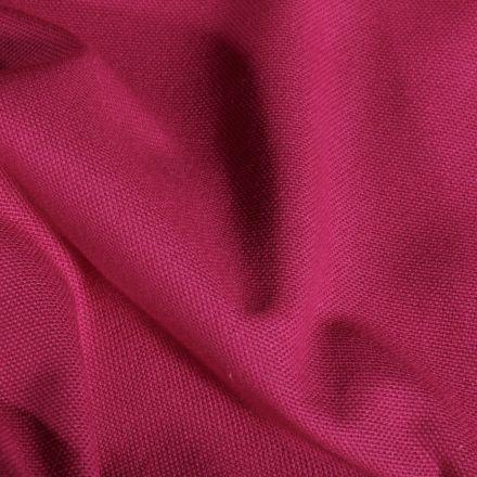 Tissu Toile de coton uni Grande largeur Grenat - Par 10 cm