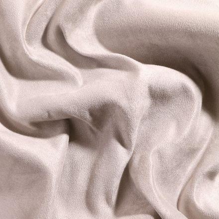 Tissu Suédine d'ameublement Gris souris - Par 10 cm