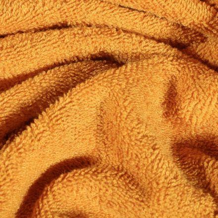 Tissu Eponge Bambou épais Ocre - Par 10 cm