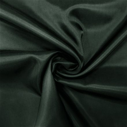 Tissu Doublure Pongé Gris Vert - Par 10 cm