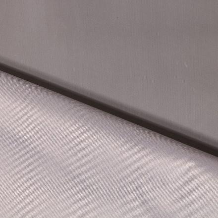 Tissu Toile à sac envers PVC déperlant ultra robuste Gris clair - Par 10 cm