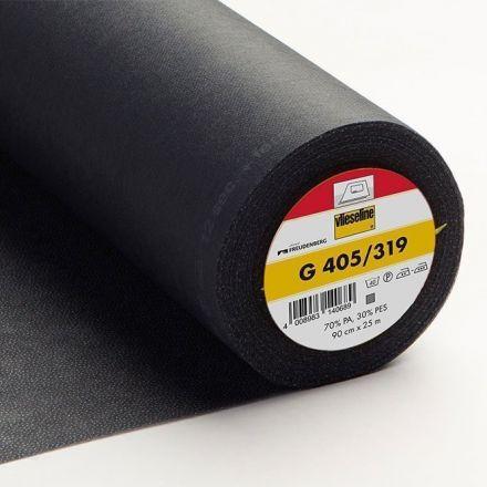 Entoilage Thermocollant Vlieseline G405 Noir - Par 10 cm