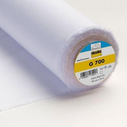 Entoilage Tissé Thermocollant Vlieseline G700 Blanc - Par 10 cm