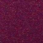 Tissu  maille chenille Chiné multicolore sur fond Violet - Par 10 cm