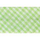 Biais tissé 20 mm Vert Petits carreaux x1m