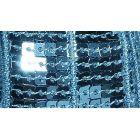 Galon Paillettes 22 mm Bleu clair Paillettes x1m