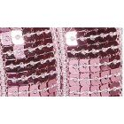 Galon Paillettes 22 mm Rose clair Paillettes x1m