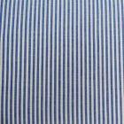 Tissu Vichy Rayures Bleu x10cm