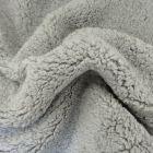 Fausse fourrure mouton Gris clair - Par 10 cm
