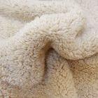 Fausse fourrure mouton Beige - Par 10cm