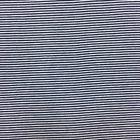 Tissu Jersey Viscose Marinière Rayures fines Bleu marine et blanc - Par 10 cm