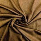Tissu Jersey Viscose uni Marron chocolat x10cm
